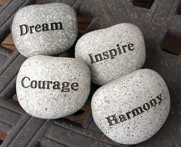 piedras vivir plenamente
